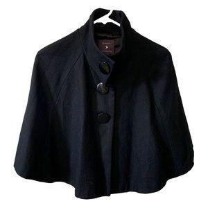 Wool Blend Cape jacket Sz S F21